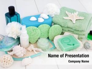 Beauty spa bathroom treatment accessories