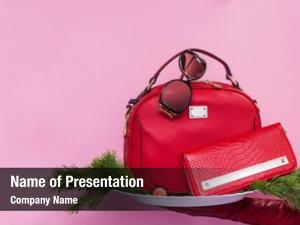 Accessories red female pink new