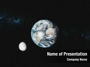Rotate earth orbit planet skyline