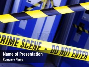 Investigation crime scene police boundary