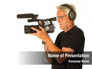 Camera professional video elderly camera