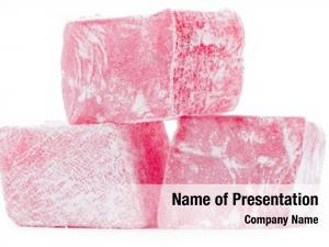 Rose turkish delight flavor