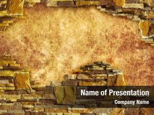 Wall background brick framing
