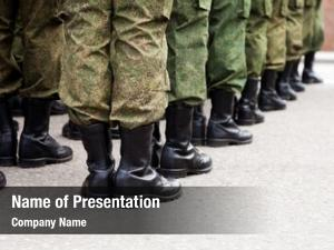 Military army parade force uniform