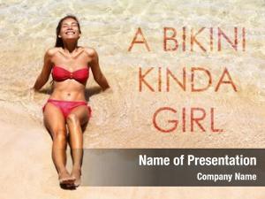 Girl bikini kinda inspirational beach