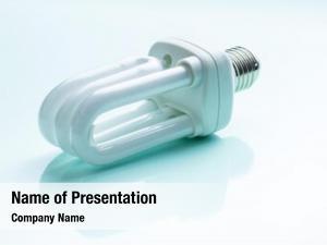Light energy saving bulb colorful
