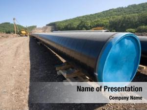 Oil construction new pipeline