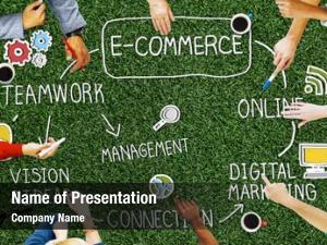 Global e business e commerce business marketing