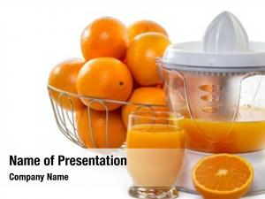 Juice juice extractor ripe oranges