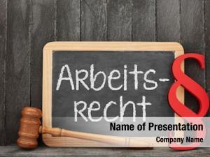 Word blackboard german arbeitsrecht (employment