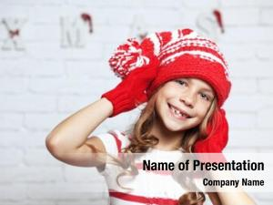 Girl little fashion fashion christmas