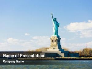Statue liberty island liberty, new
