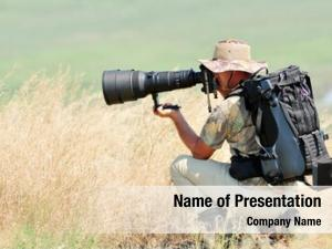 Outdoor wildlife photographer