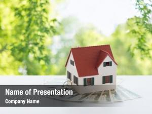 Estate mortgage, real property concept
