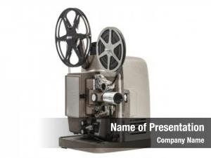 Movie vintage home film projector