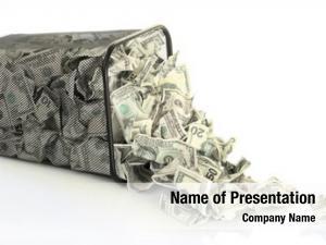 White money dustbin