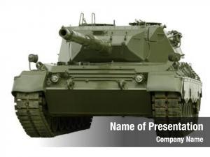 Main german built leopard battle tank