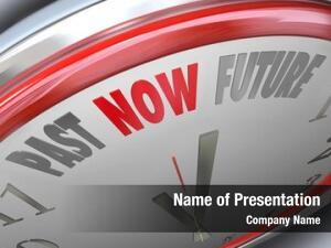 Future past now words clock