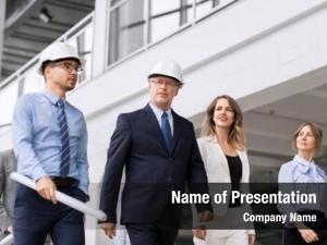Business architecture, construction building concept