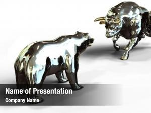 Stock bull bear market face