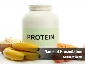 Powder jar protein food protein,