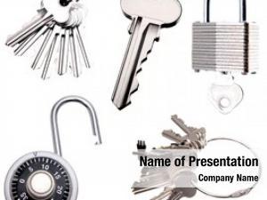 Locks collection keys plain