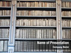 Books light exposure: bookshelves, stack