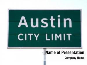 Limit austin city sign that