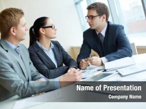 Meeting elegant entrepreneurs office discuss