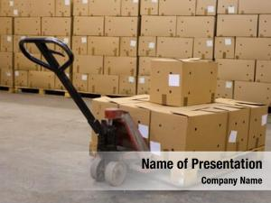 Pallet boxes hand truck