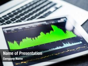 Data stock market tablet