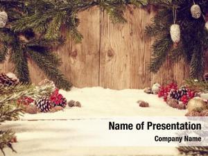 Wooden christmas holiday celebration decoration