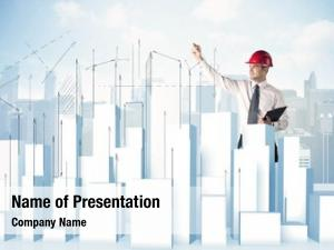 Happy construction ppt theme