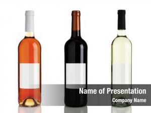 Red rose wine, wine, white