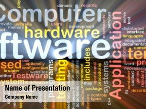 Box software package word cloud