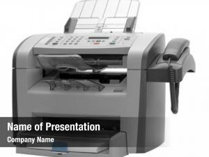 Device: modern multipurpose fax, copier