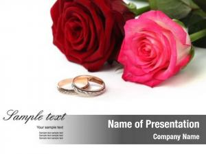 Roses wedding rings