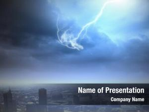 Scenes background urban lightning