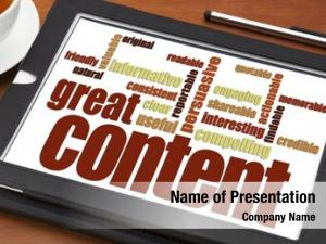 Writing great content word cloud