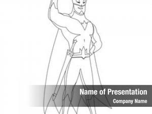 Book superhero coloring