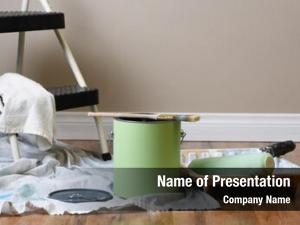 Equipment painting still life: painting interior