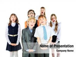 Singing group children school choir