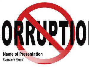 Fraud stop corruption bribery political