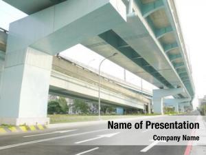 City bridge roadway