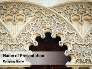 Engrave moroccan architecture details