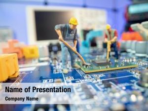 Man miniature repair mainboard, miniature