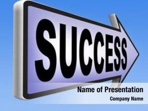 Business success life being successful