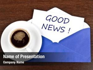 Message good news coffee