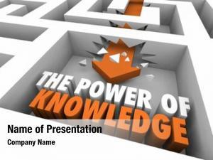 Maze power knowledge arrow words