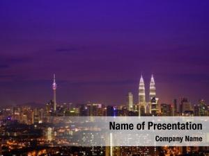 Lumpur malaysia kuala cityscape tower